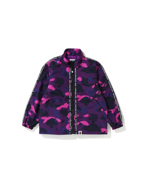 Color Camo zip jacket