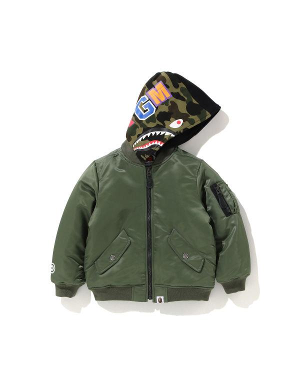 Shark Hoodie MA-1 jacket
