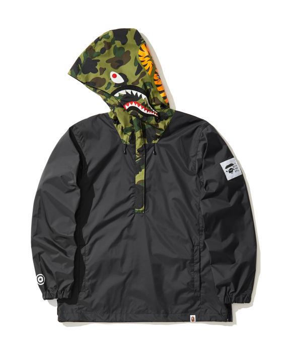 3b7e2bf4e48b A BATHING APE® Shark pullover hoodie jacket