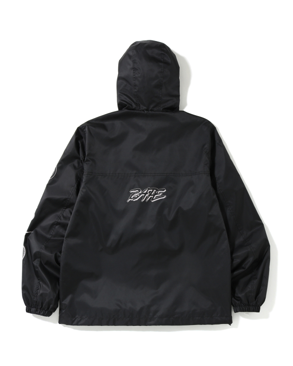 Emblem print jacket