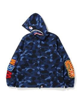 Color Camo Shark hoodie