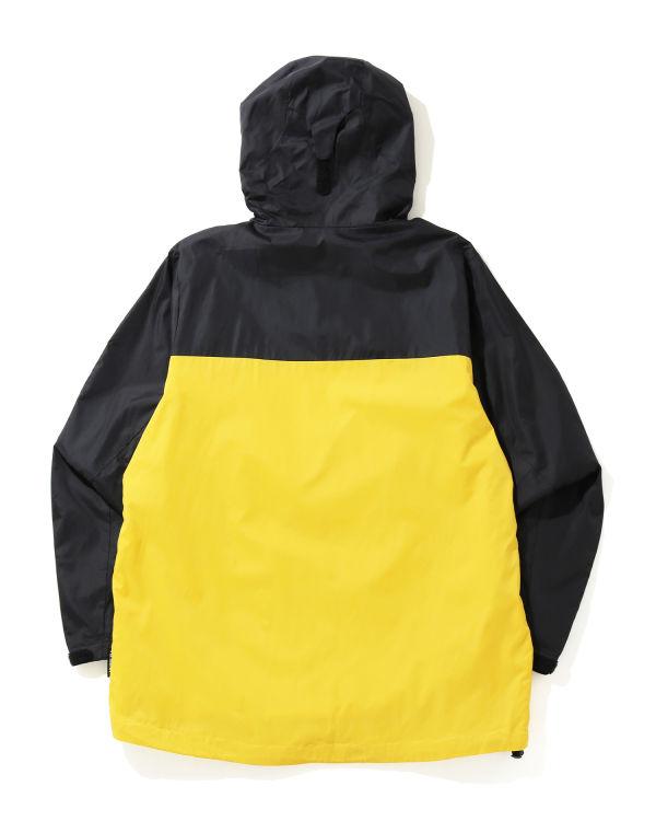 2 Tone hooded jacket