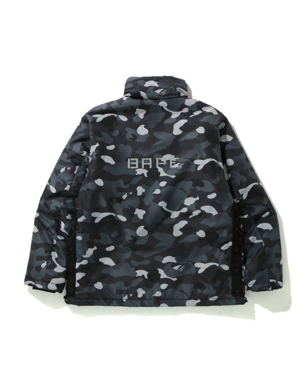 Gradation Camo Lace up jacket