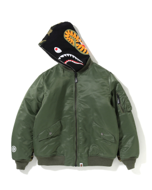 MA-1 Shark hooded bomber