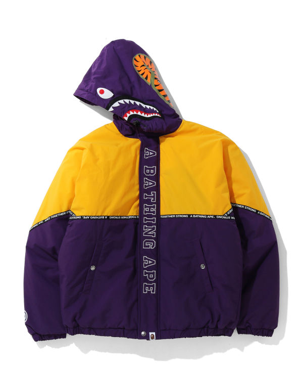 Relaxed Shark hooded jacket