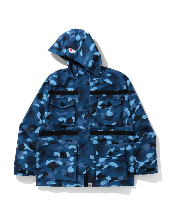 Gradation Camo Shark jacket