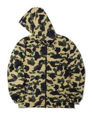 1st Camo hooded jacket
