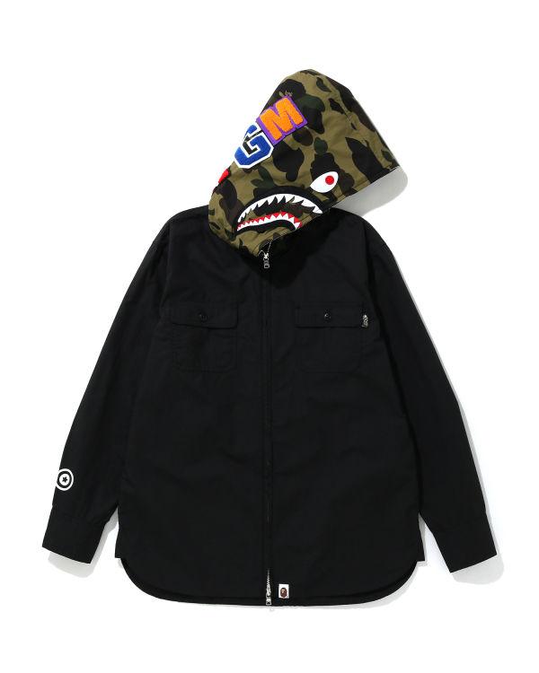 1st Camo Shark hooded jacket