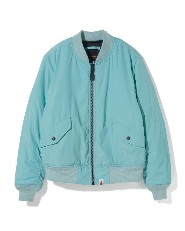 Motif bomber jacket
