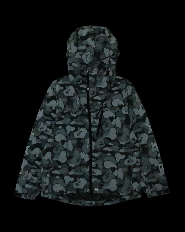ABC dot reflective zip jacket