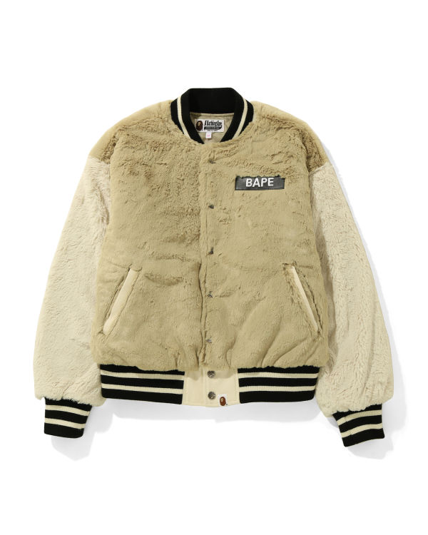 Fure Bape varsity jacket