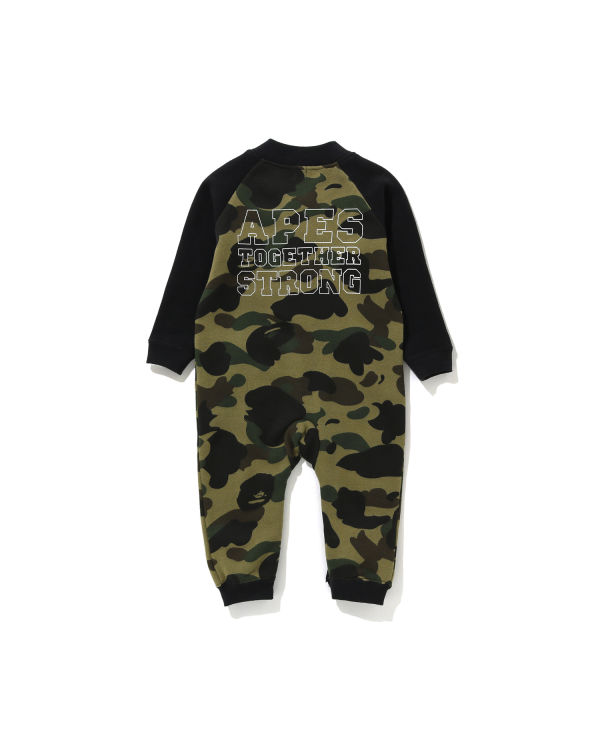 1st Camo Ape Head rompers