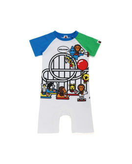 Milo Play Land Rompers