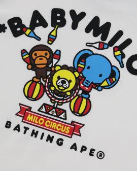 Baby Milo Circus L/S romper
