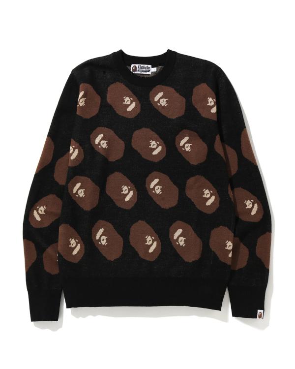 Ape Head knit sweater