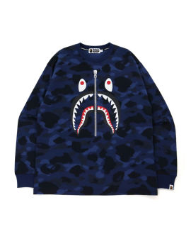 Color Camo Shark Relaxed Fit L/S Tee