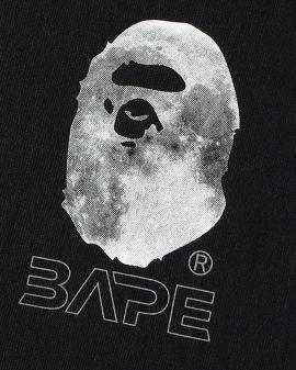 Ape Head Moon Long Sleeve Tee