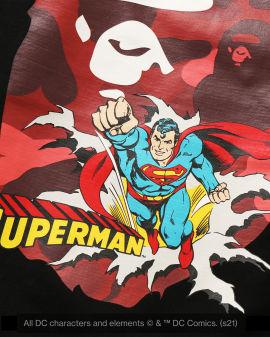 X DC Superman Long Sleeve tee