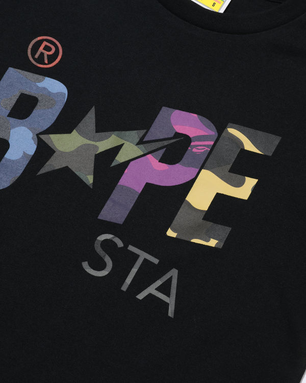 Mix Camo Bape Star tee