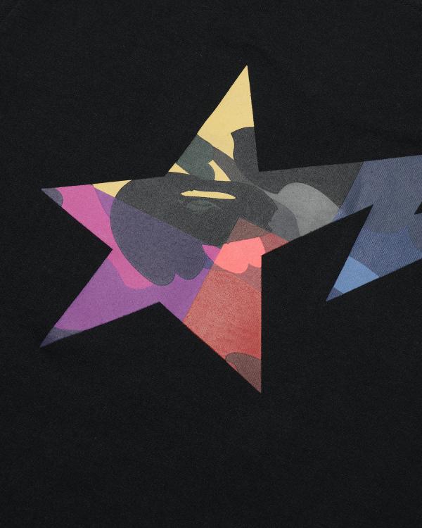 Mix Camo Bape Star tee