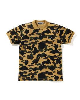 1st Camo Bape Patched Polo shirt