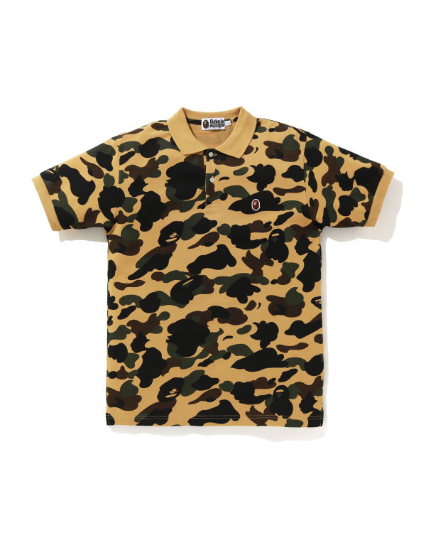 1st Camo Ape Head polo shirt