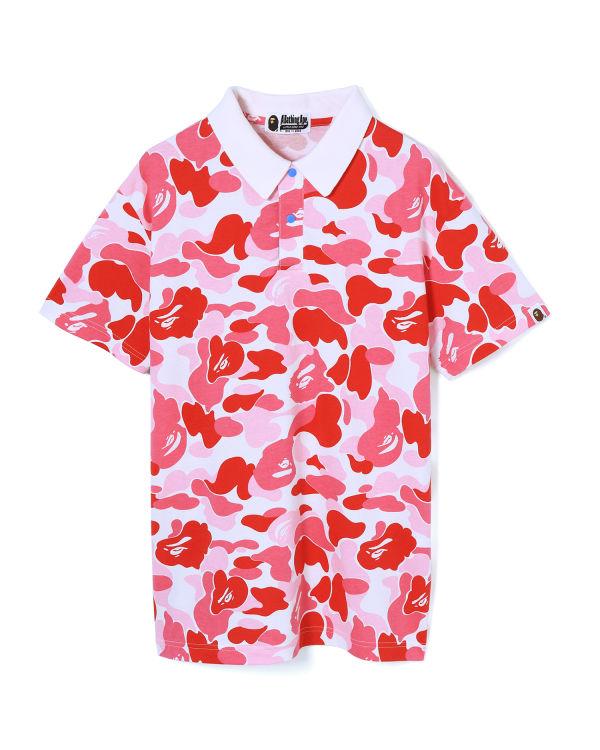 ABC oversized polo shirt