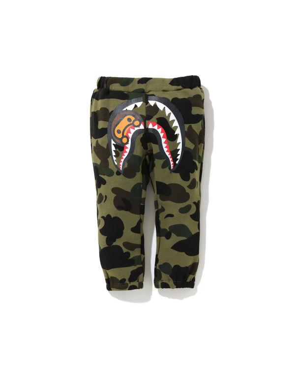 1st Camo Milo Shark Baby pants