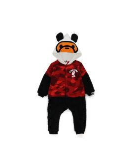 Color Camo Baby Milo Panda bodysuit