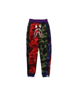 Mix Camo Shark Crazy Slim Sweatpants