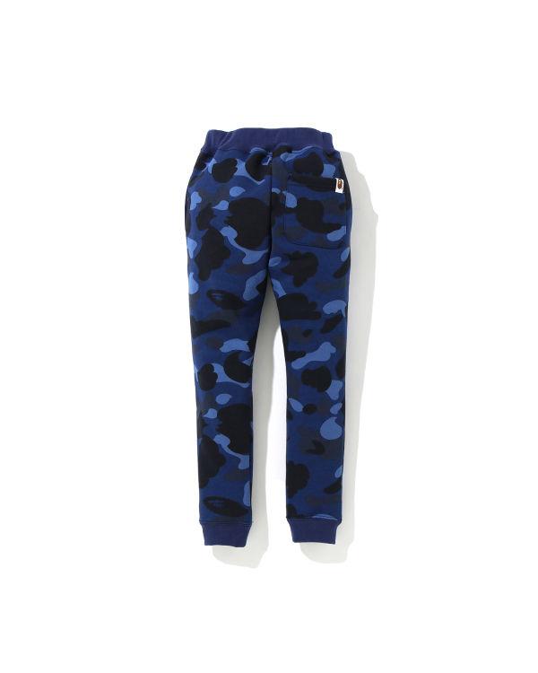 Color Camo One Point Slim pants