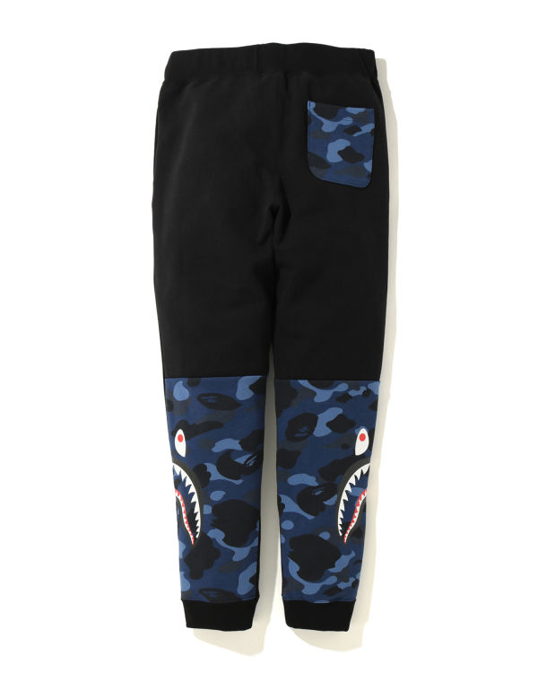 Color Camo Side Shark sweatpants