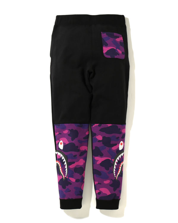 Color Camo Side Shark sweatpants