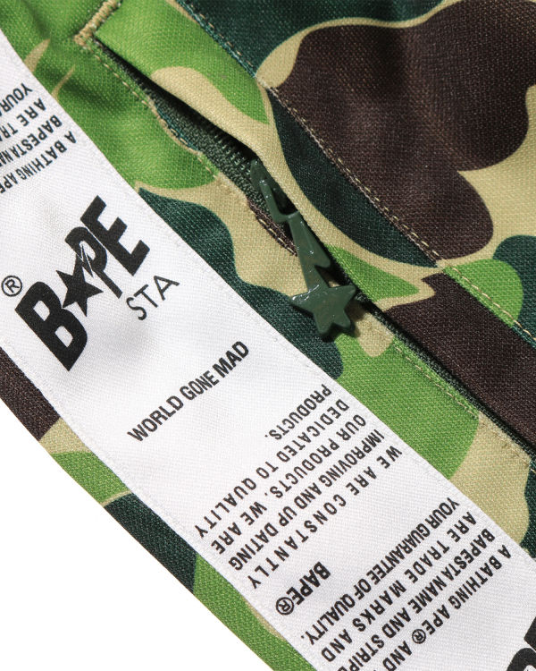 ABC BAPE STA tape jersey pants