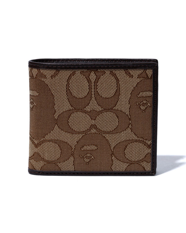 X Coach coin wallet