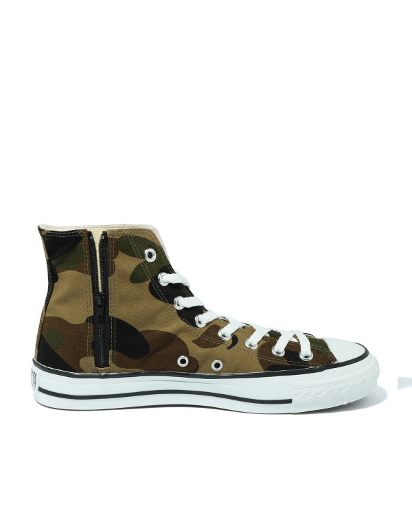 1st Camo Shark Ape Sta hi-top sneakers
