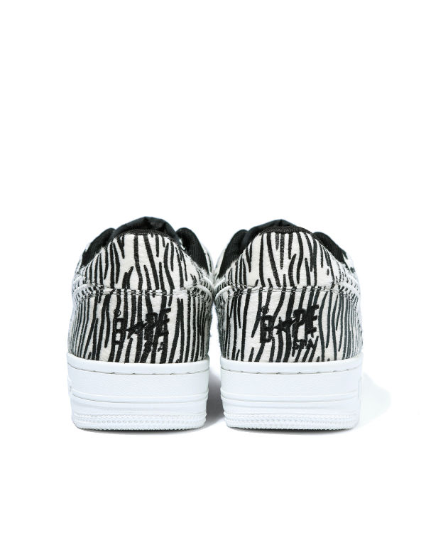 Zebra Bape Sta Low sneakers