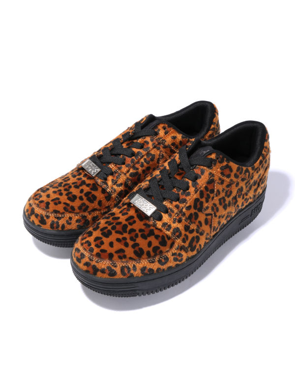 Leopard Bape Sta Low sneakers