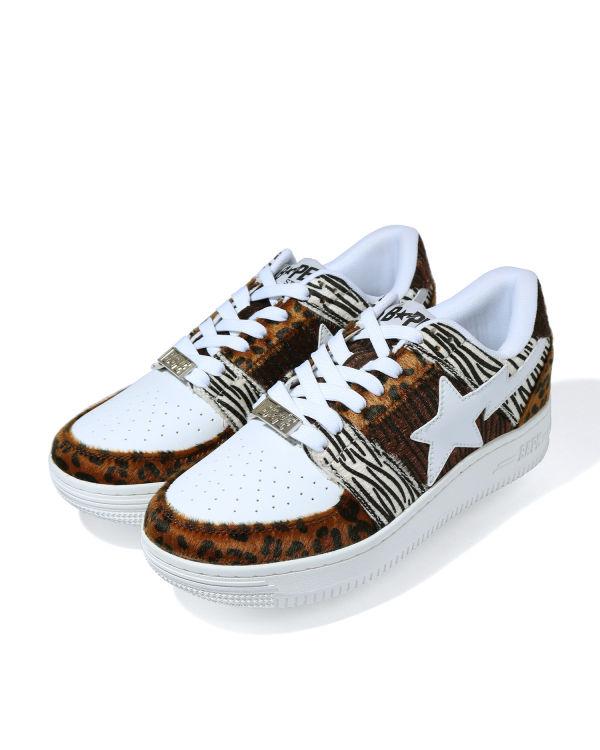 Animal Mix Bape Sta Low sneakers