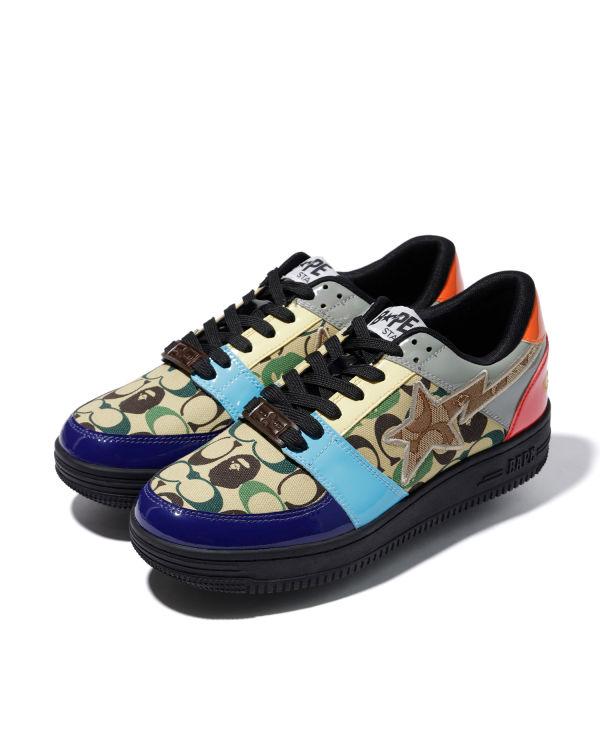 X Coach Bape Sta #3 sneakers
