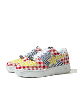 Gingham Check Multi Pattern sneakers