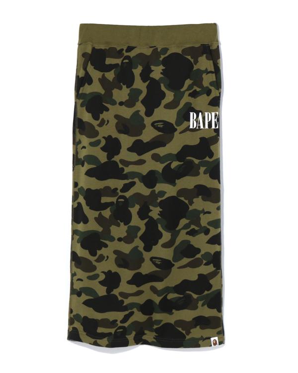 1st Camo sweat skirt