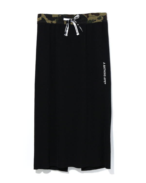1st Camo Belt knit skirt