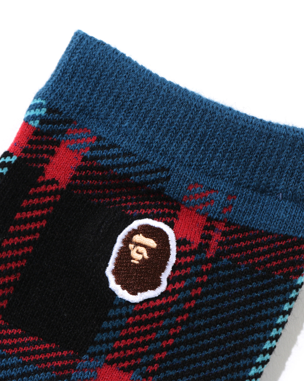 Bape Check socks