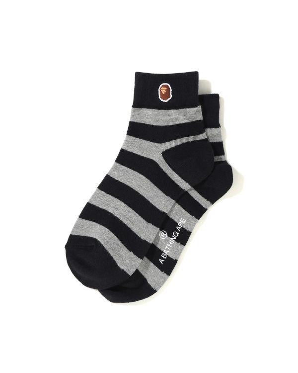 Hoop ankle socks