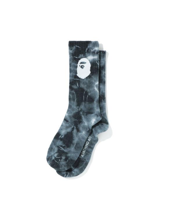 Ape Head Tie Dye socks