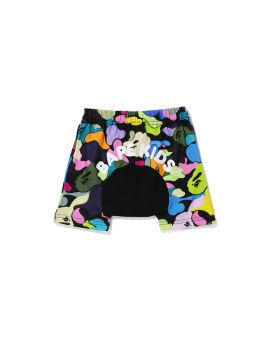 Multi Camo Monkey shorts