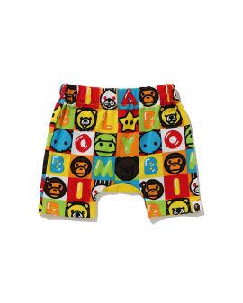 Milo Friends Block Monkey shorts