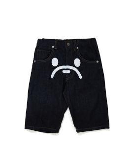 Milo Face Denim Shorts