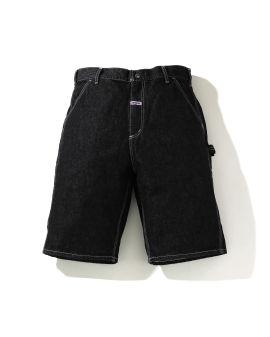 Denim Painter shorts